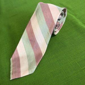 Pastel Stripe Tie